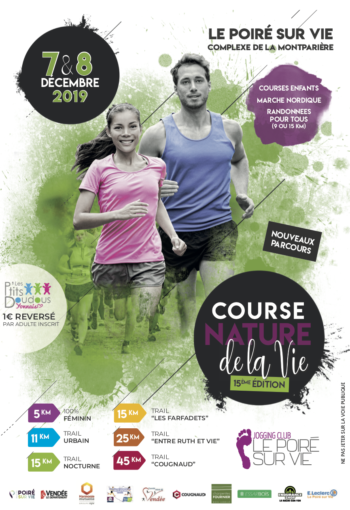 Flyer de la course nature 2019